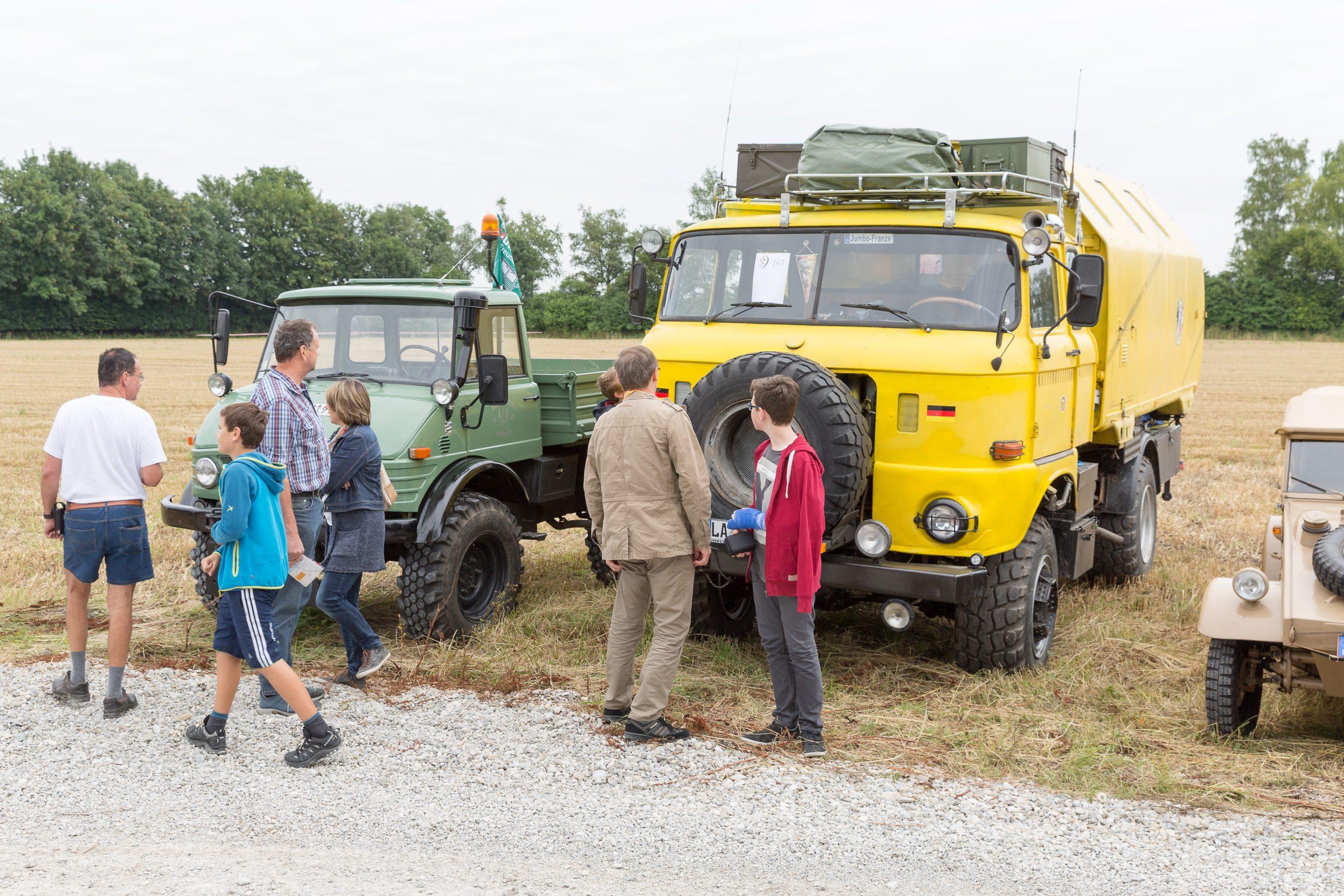 Oldtimer-Nutzfahrzeug-Treffen 2016